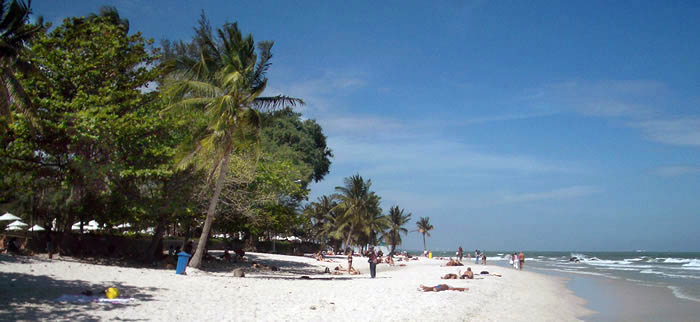 The Top Ten Best beaches near Bangkok