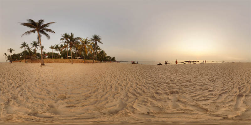 Hua Hin Beach Sunrise 2 2014 Panorama Preview
