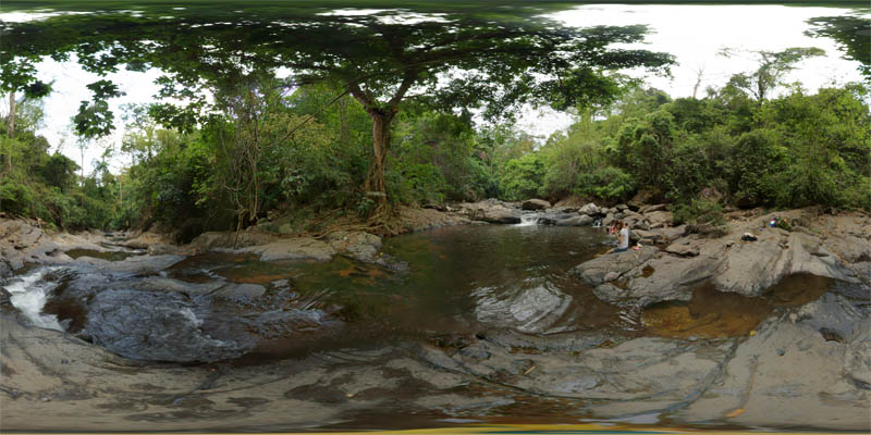 Pala-U Waterfall 2014 Panorama Preview